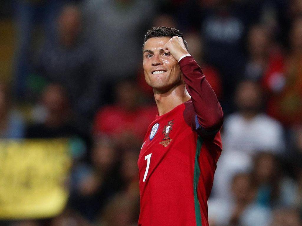 Ronaldo Lewati Rekor Gol Pele
