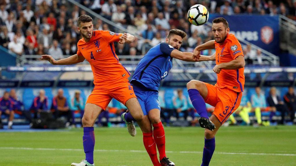 Dihajar Prancis, Peluang Belanda Lolos ke Piala Dunia Terancam
