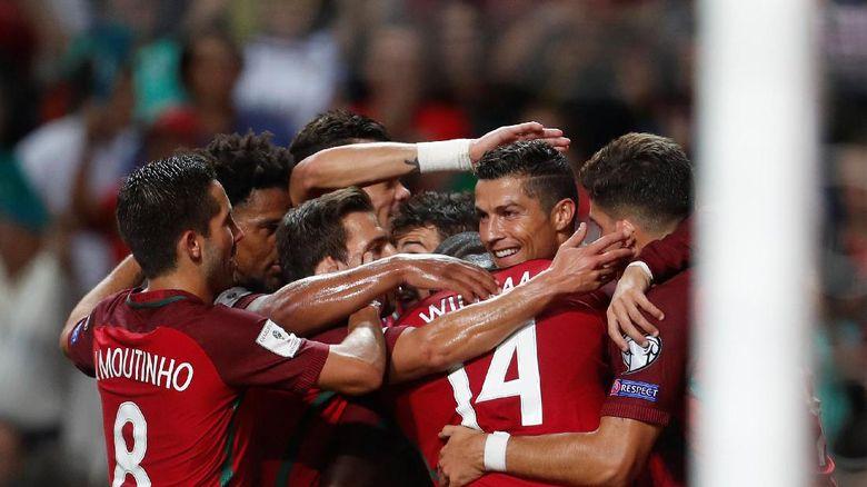 Ronaldo Mencatatkan Hat-Trick Saat Portugal Menghajar Kepulauan Faroe 5-1