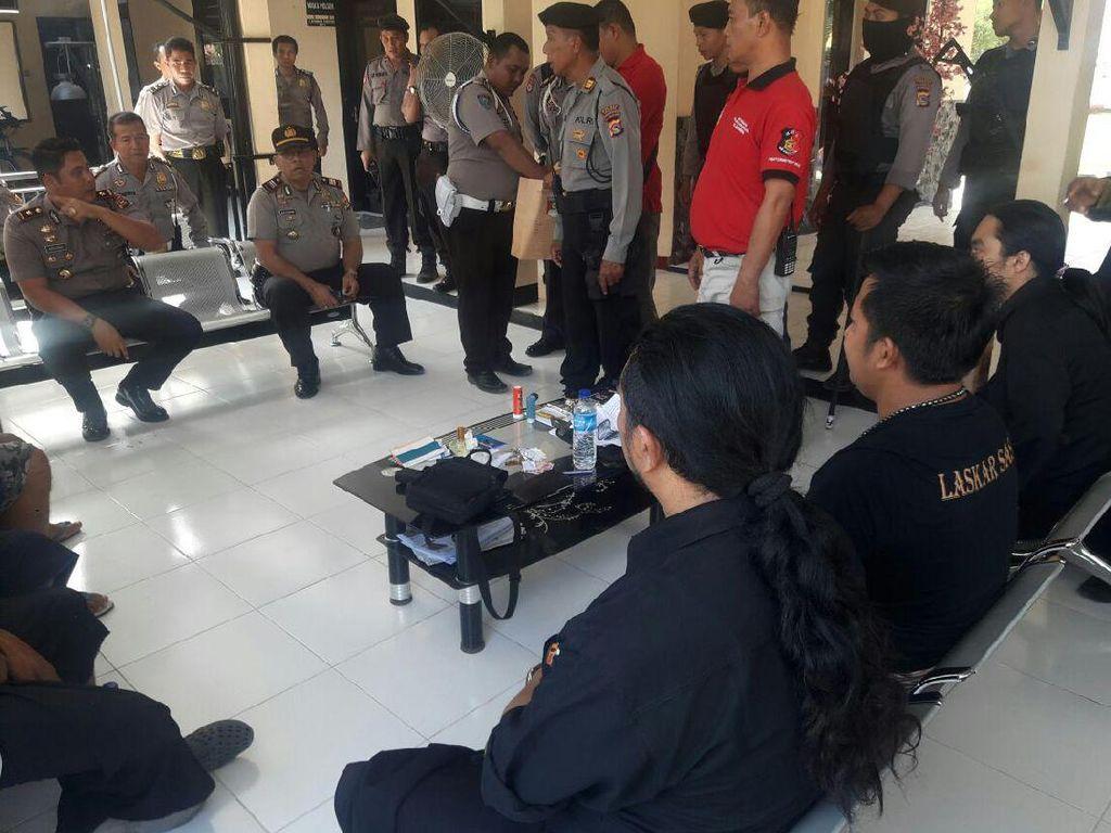 Diduga Lakukan Persekusi, 13 Orang Diamankan di Mataram NTB