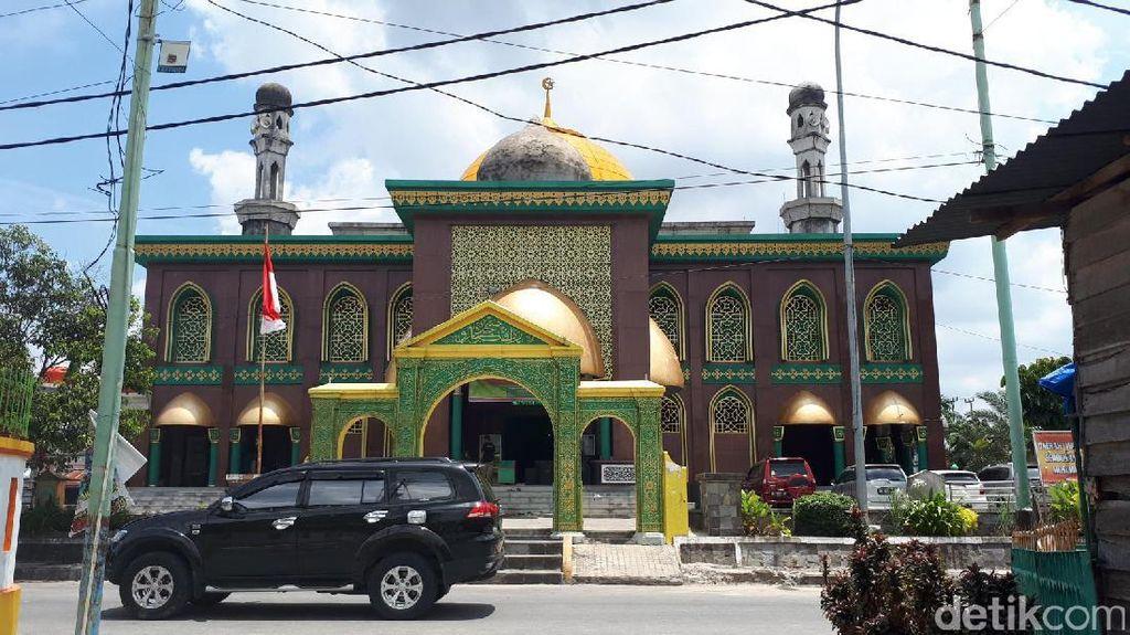 Foto: Masjid Raya Pekanbaru, Tempat Menikmati Ramadhan
