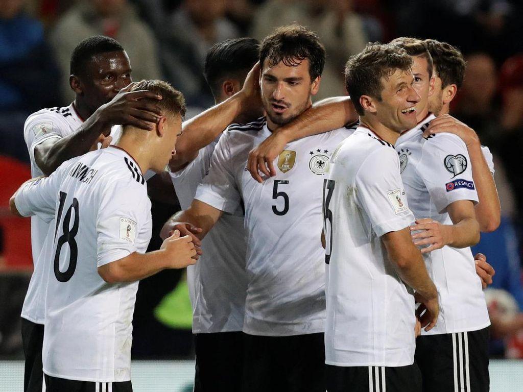 Jerman Tundukkan Republik Ceko 2-1