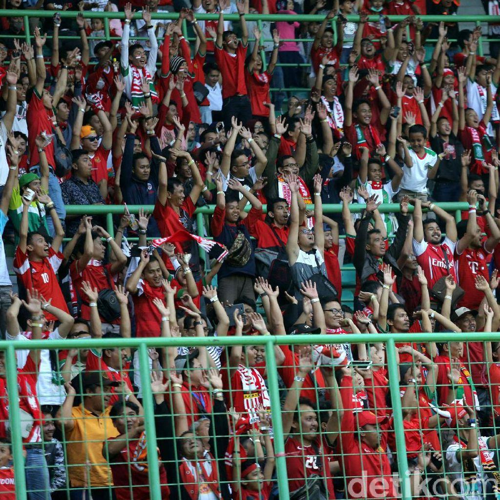 Uji Coba Timnas Vs Guyana Pindah ke Stadion Patriot