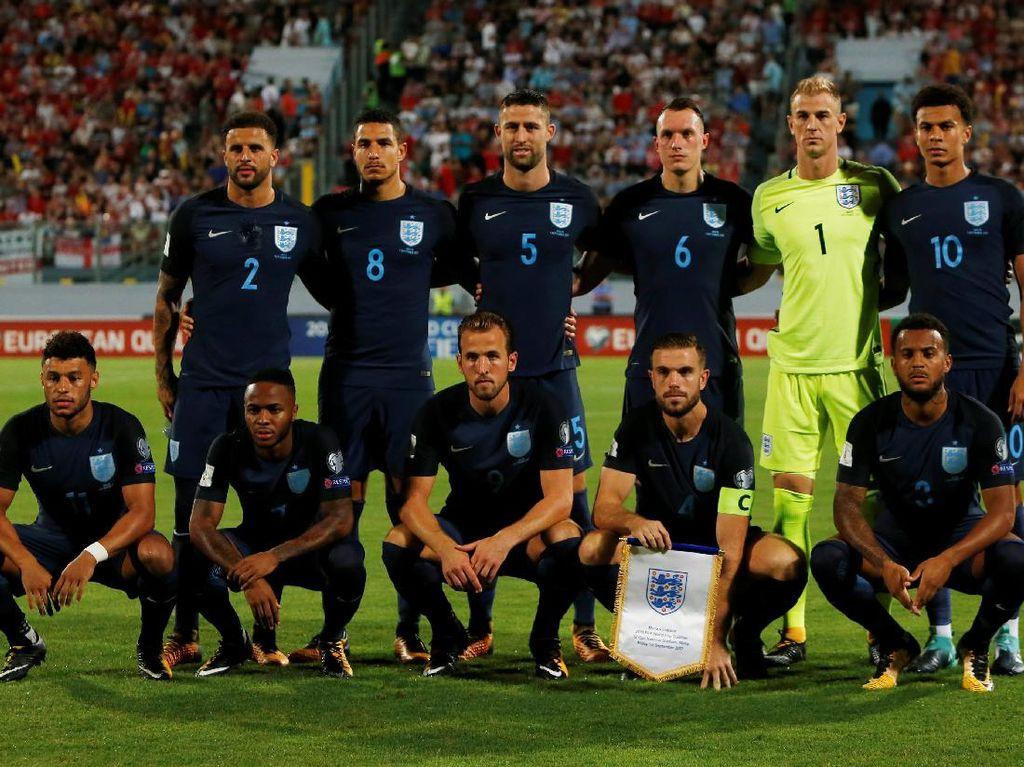 Inggris Berondong Malta Empat Gol Tanpa Balas