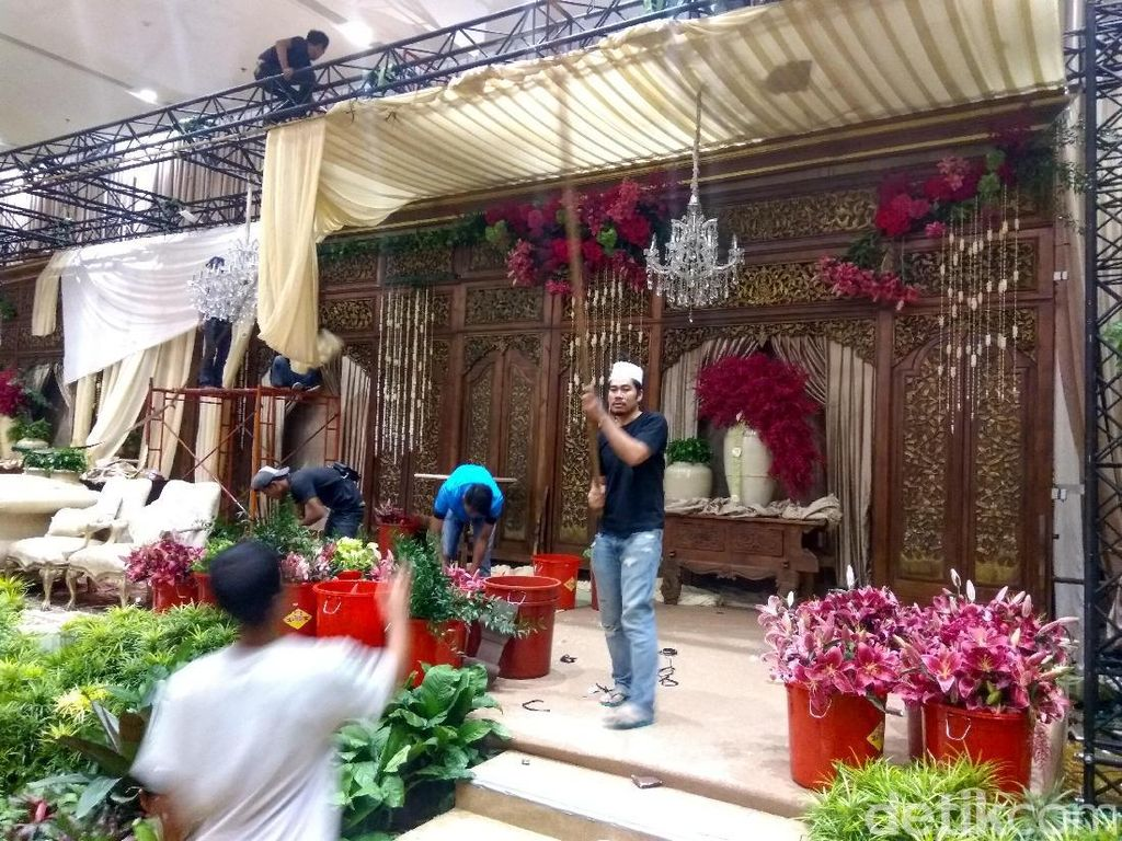 Resepsi Kedua Pernikahan Anak BG-Buwas Besok Bernuansa Minang