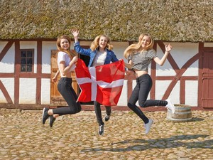 Foto: Rahasia Negara Paling Bahagia di Dunia