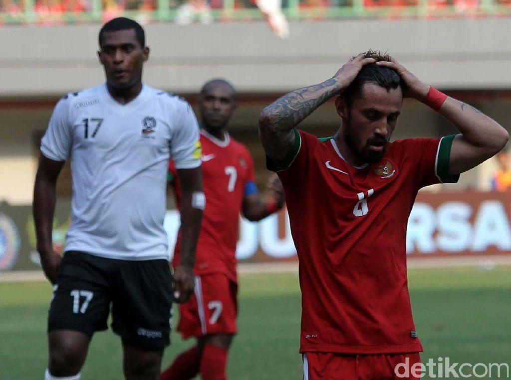 Foto: Indonesia Gagal Kalahkan Fiji