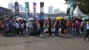 Antre dari Pagi, Fans Siap Bertemu Idola KPOP di Music Bank in Jakarta!
