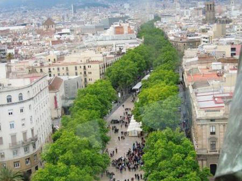 Barcelona Bakal Larang Mobil Biar Kota Ramah Pedestrian