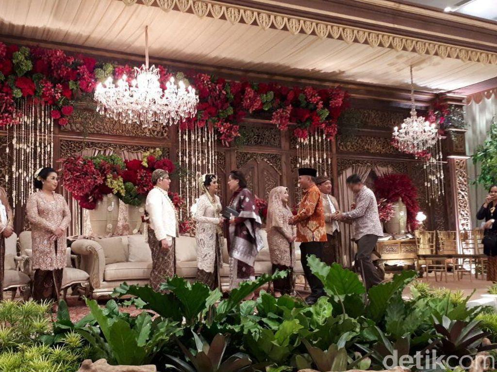 Pimpinan KPK Kompak Datang ke Pernikahan Anak BG-Buwas