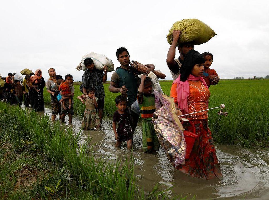 Pemerintah RI Diminta Desak Myanmar Hentikan Kejahatan ke Rohingya