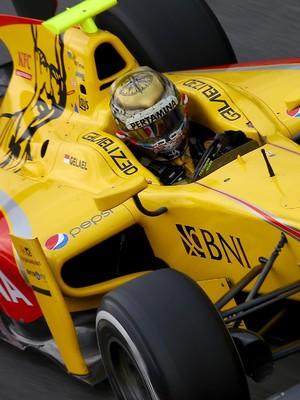 Sean Gelael Akui Diuntungkan dengan Kondisi di Monza