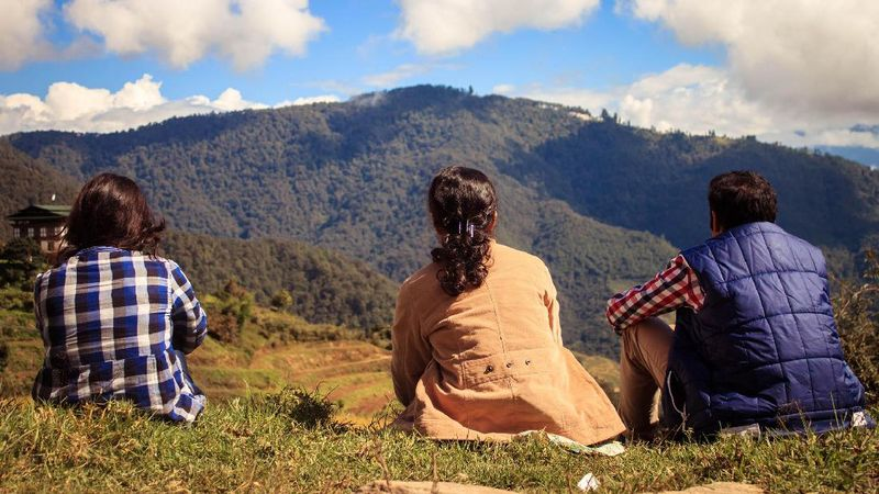 Foto: Inilah negara Bhutan. Negara kecil ini dapat mengajarkan kepada dunia bagaimana mengelola zat karbon (BBC Travel)
