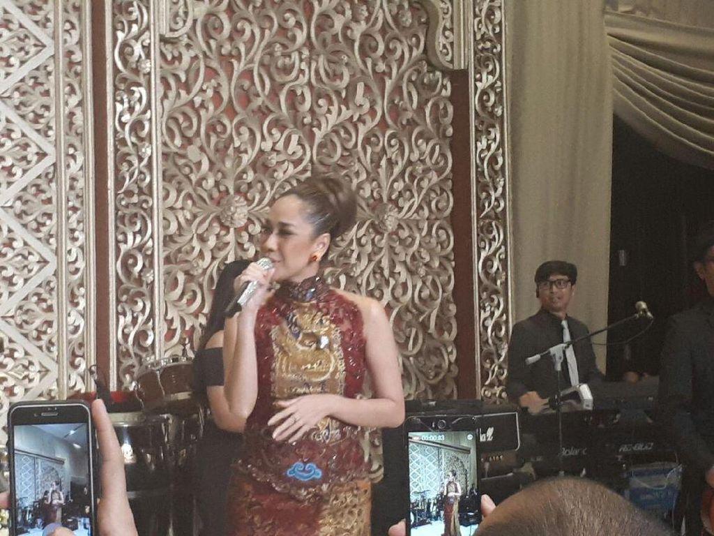 BCL Hingga Deddy Dhukun Hibur Tamu Resepsi Pernikahan Anak BG-Buwas