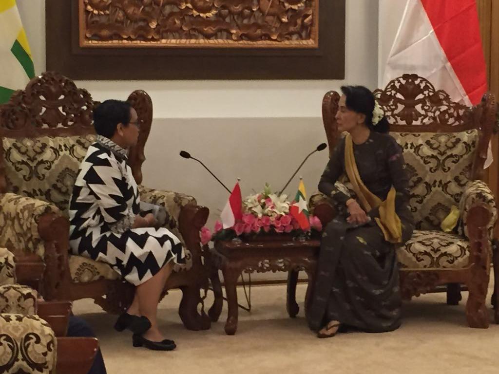 Bertemu Suu Kyi, Ini 4 Hal yang Disampaikan Menlu RI soal Rohingya