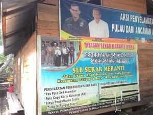 Begini Kondisi SLB Sekar Meranti yang Ada di Pelosok Riau
