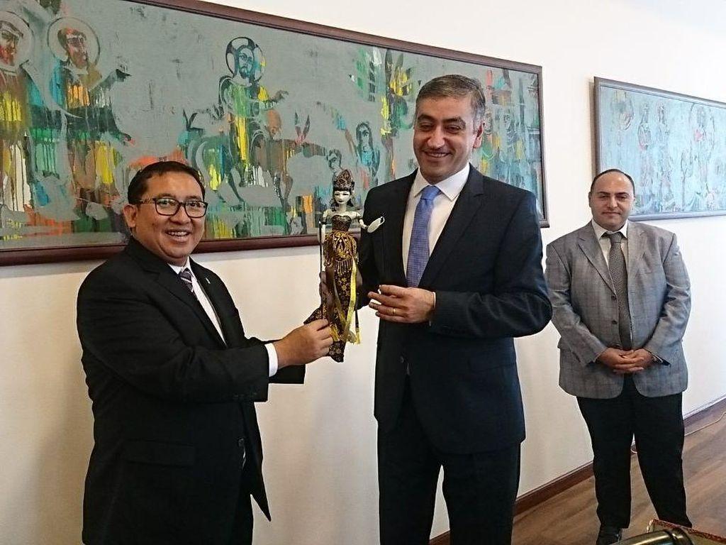 Fadli Zon Pastikan Dukungan Armenia untuk Indonesia di DK PBB