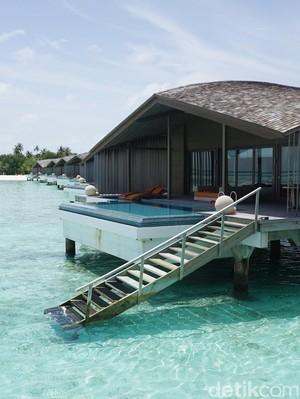 Foto: Tempat Bulan Madu Intim di Maldives