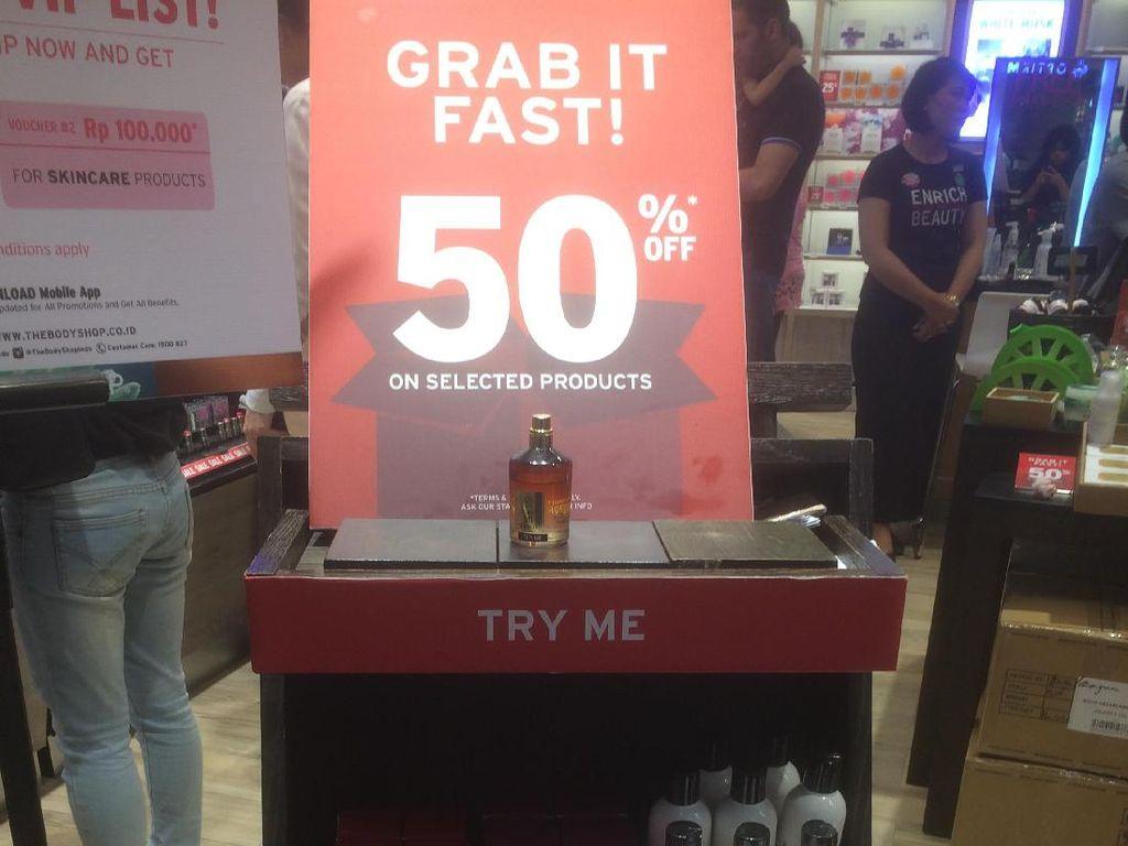 The Body Shop Diskon Hingga 50%, Parfum Mulai dari Rp 130 Ribu