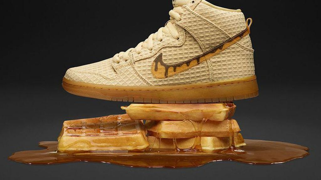 Yuk, Intip Deretan Sneakers Kece Bertema Pizza, Waffle hingga Macaron!