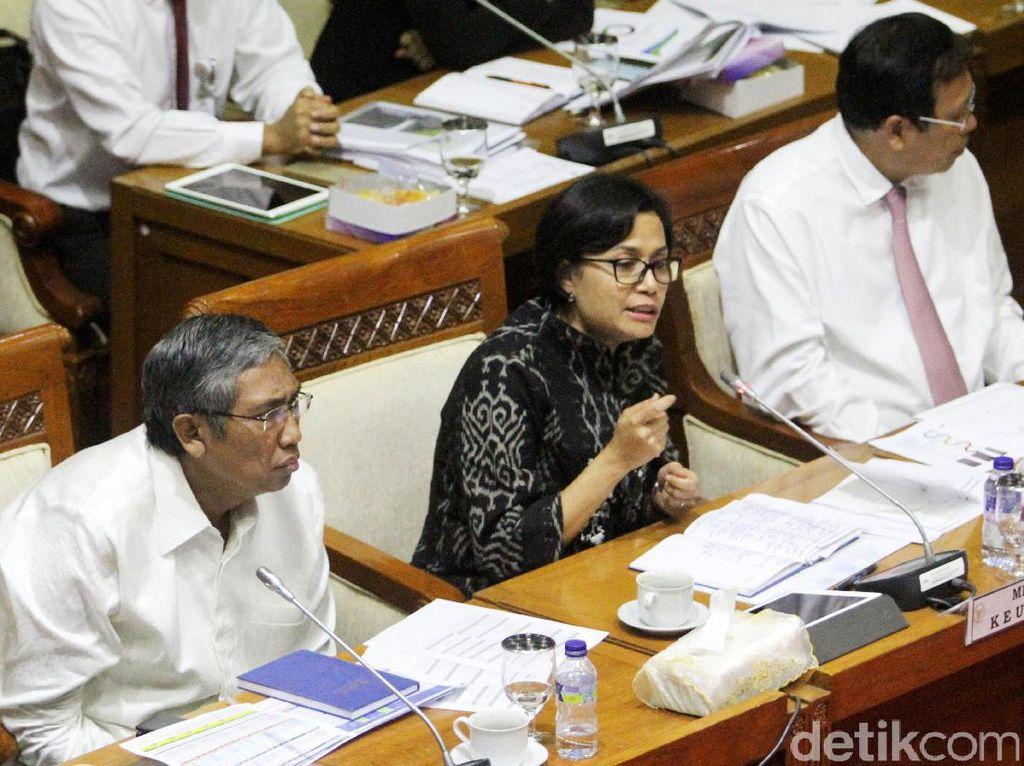 foto: Sri Mulyani Dicecar DPR Soal Utang Rp 3.780 T