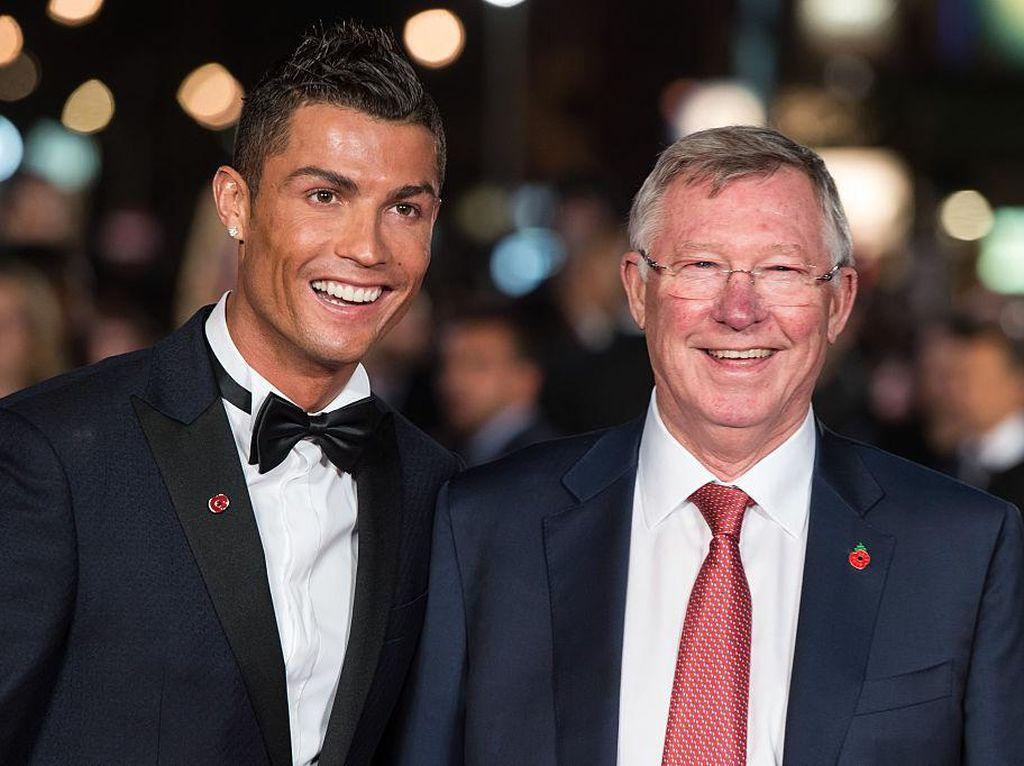 Dulu, Ini Cara Sir Alex Menempa Ronaldo agar Tak Lembek