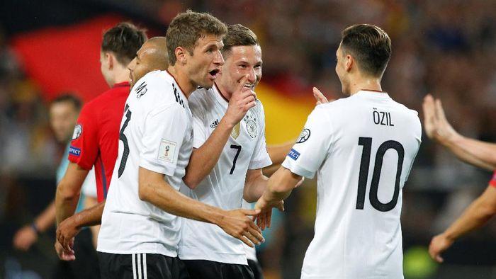 Jerman menang telak atas Norwegia 6-0 (Michaela Rehle/Reuters)