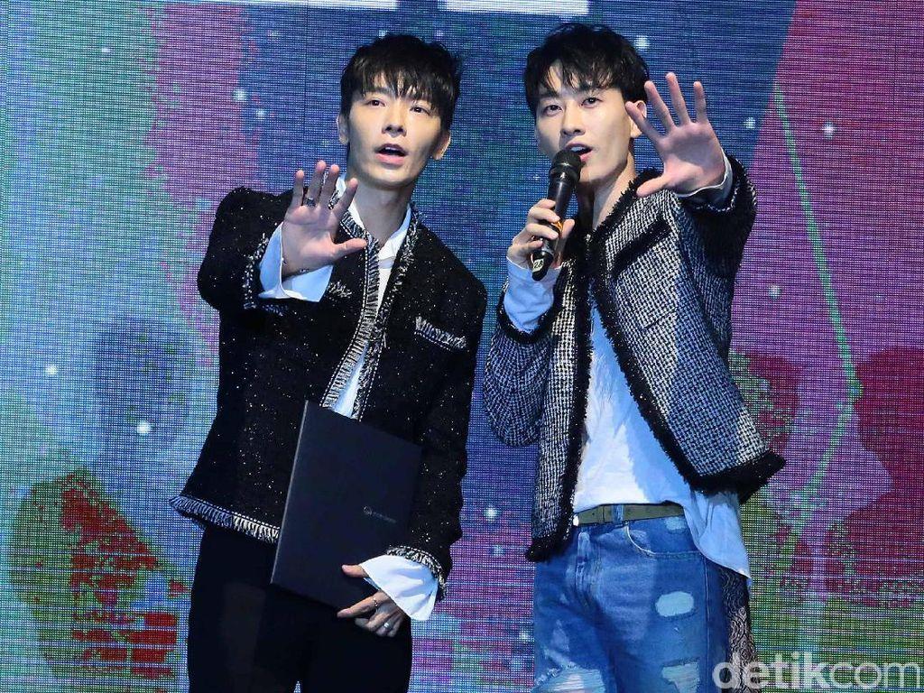Assalamualaikum! Super Junior D&E Sapa ELF Indonesia