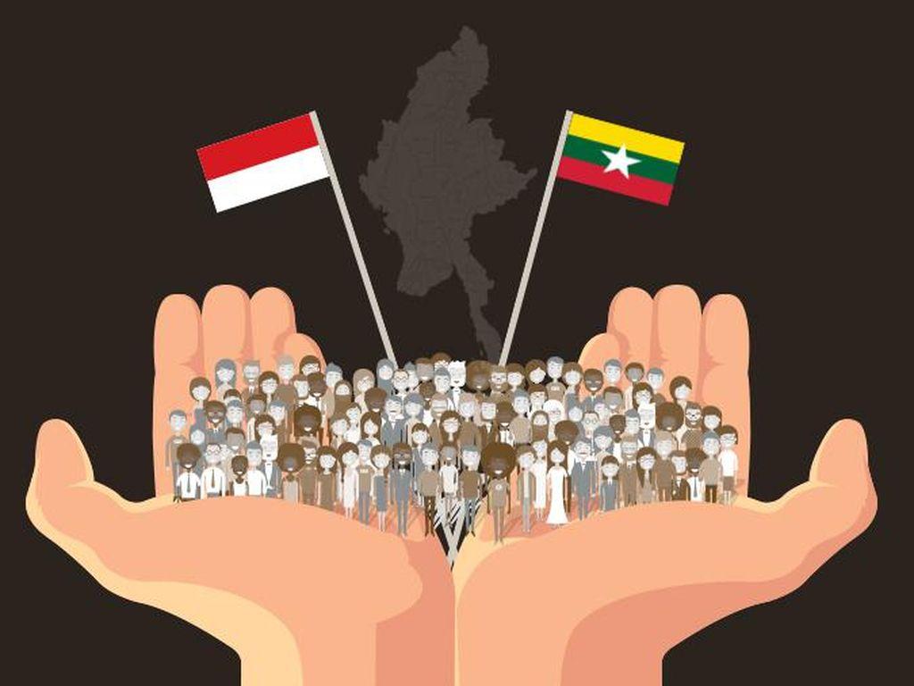 Dari SBY sampai Jokowi, Ini Aksi Indonesia untuk Rohingya