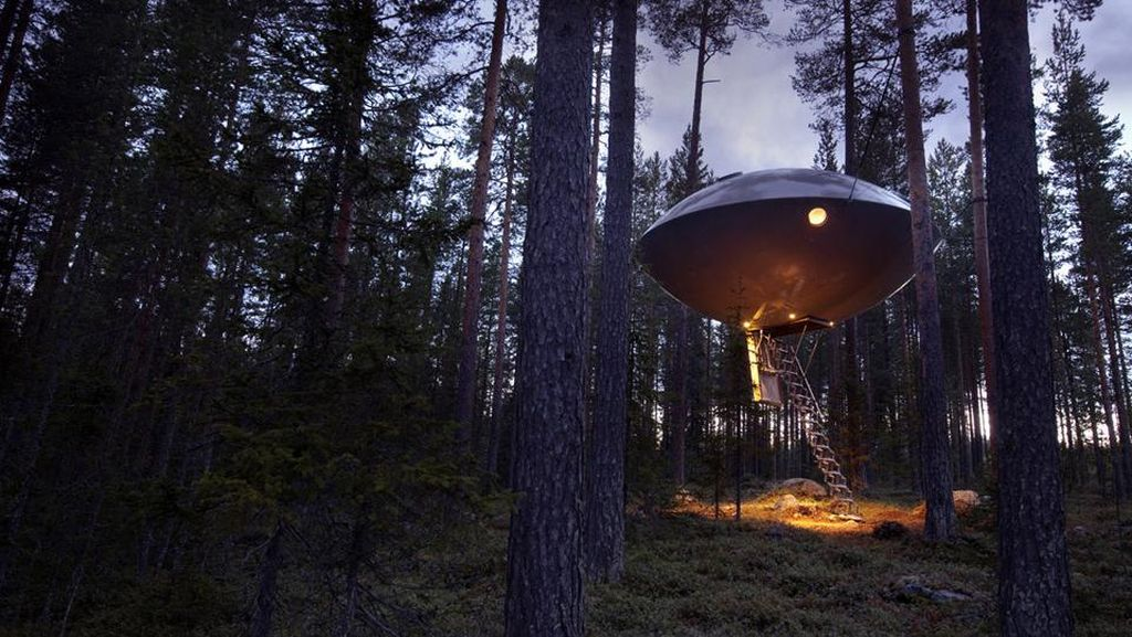 Foto: Hotel Berbentuk UFO
