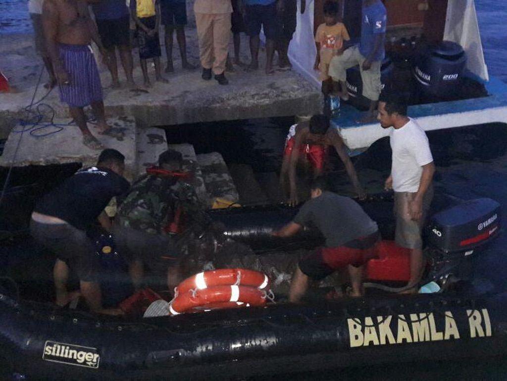 Kapal Tradisional Tenggelam di Sulut, Satu Penumpang Tewas