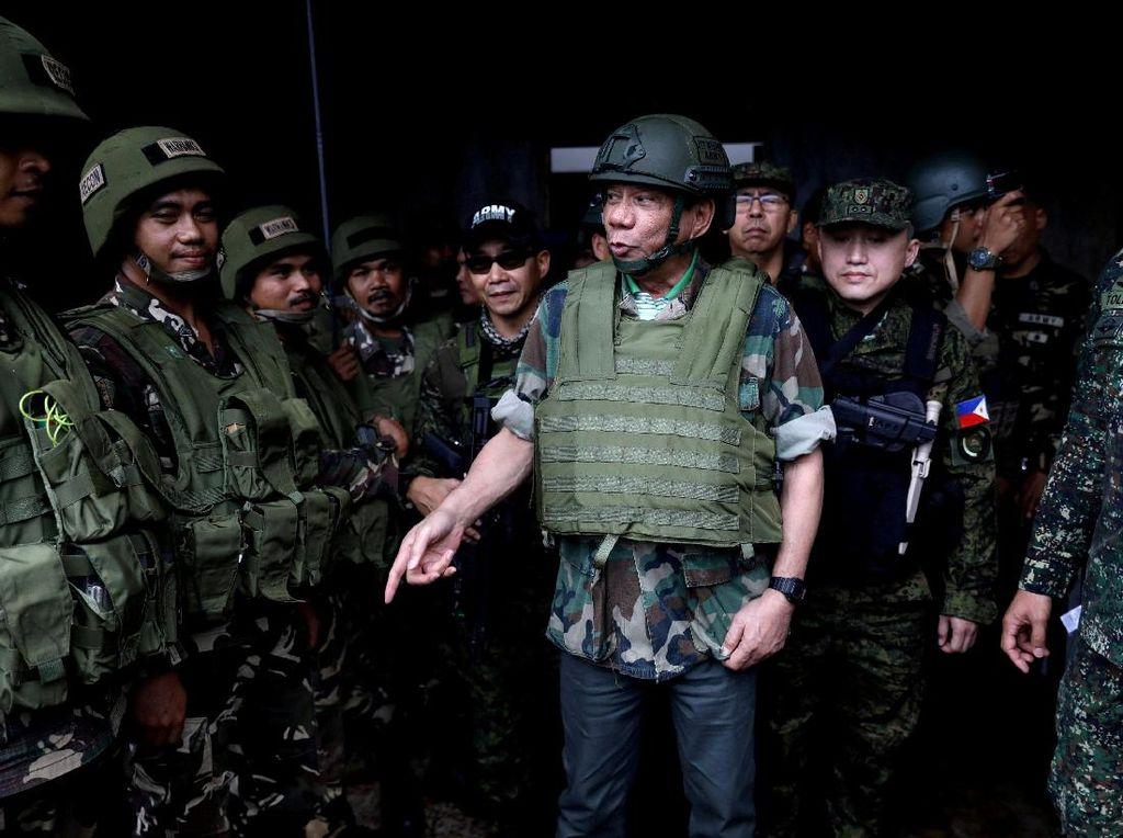 Perangi ISIS di Marawi, Duterte akan Ajak Indonesia dan Malaysia