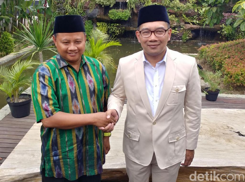 Roadshow Kilat Ridwan Kamil-Uu Jemput Dukungan dari Parpol