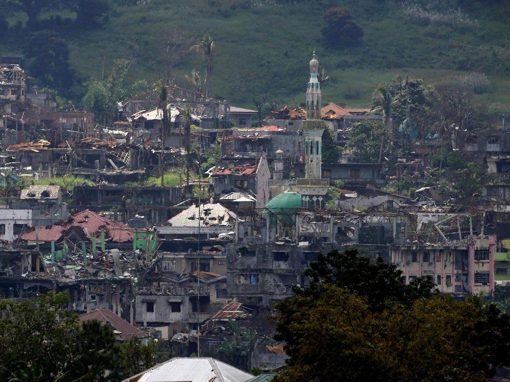 Perang Sebabkan Kota Marawi Jadi Kota Mati
