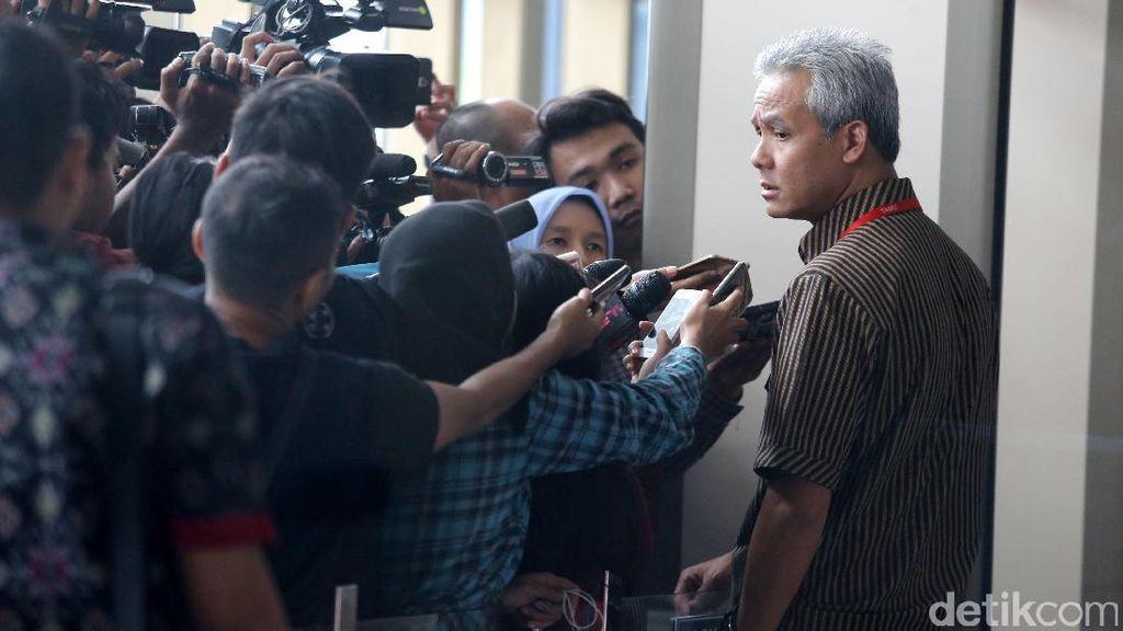 Arif Wibowo dan Ganjar Pranowo Diperiksa untuk Novanto