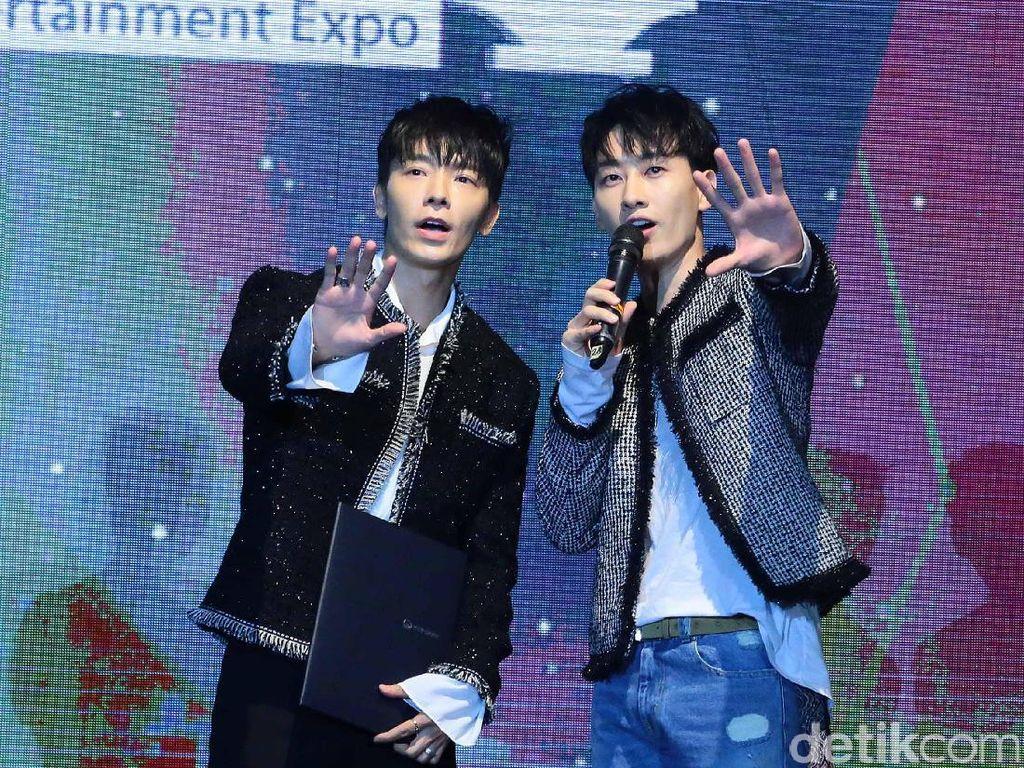 Donghae dan Eunhyuk Super Junior Tampil di Penutupan Asian Games!