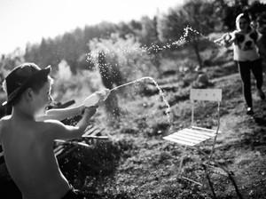 Potret Asyiknya Anak-anak Liburan Tanpa Gadget