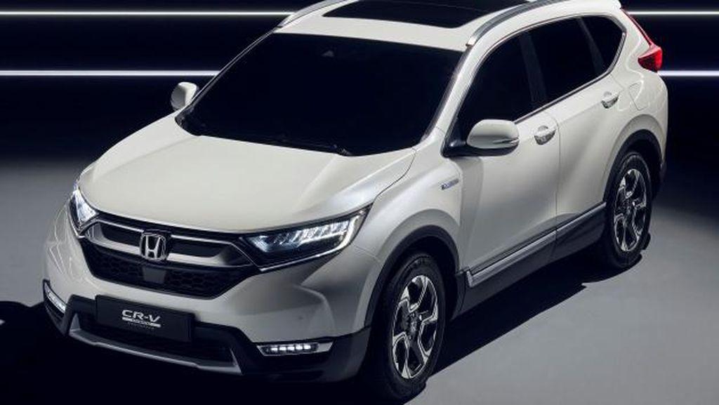 Keren, Begini Tampang Honda CR-V Hybrid