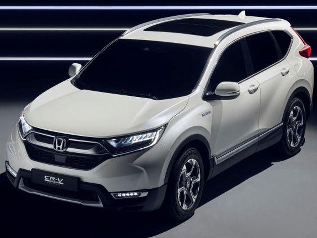 Honda: CR-V Hybrid Akan Hilang Sebentar Sampai Awal 2019
