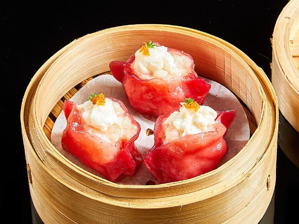Resep Dim Sum : Steamed Seafood Dumpling with Egg White