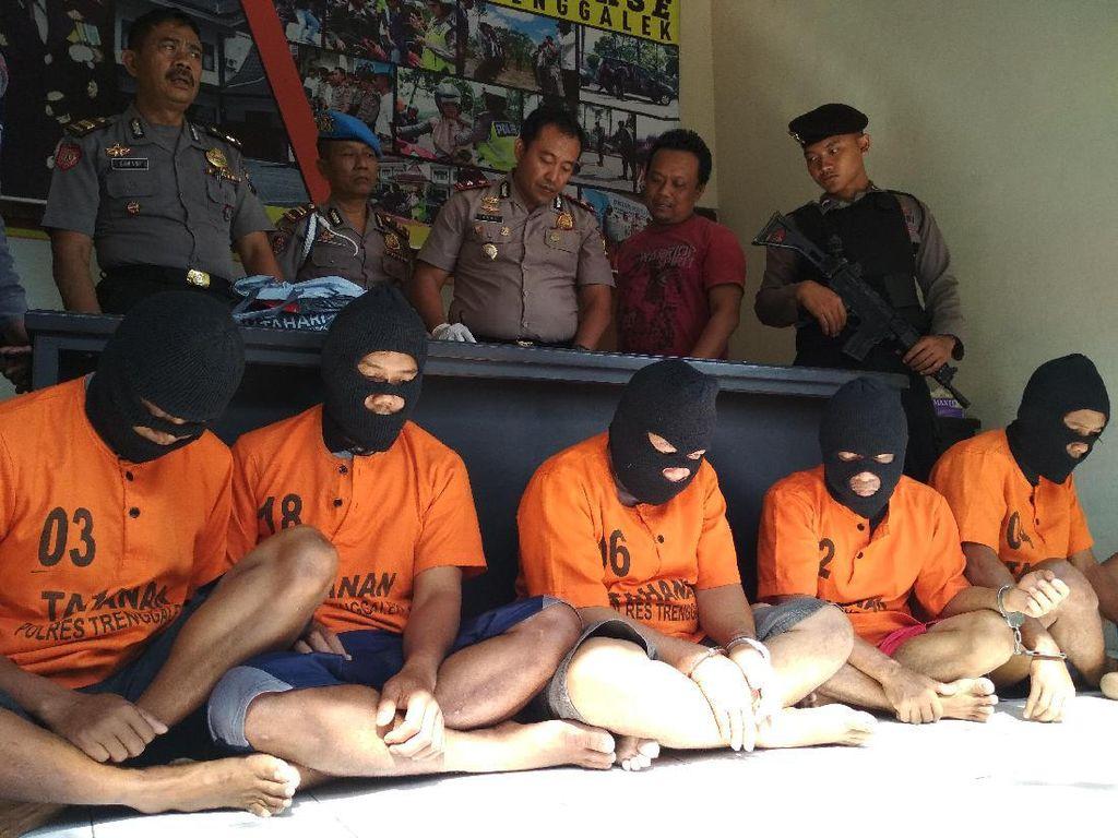 Komplotan Pencuri Cengkih Diciduk Polres Trenggalek