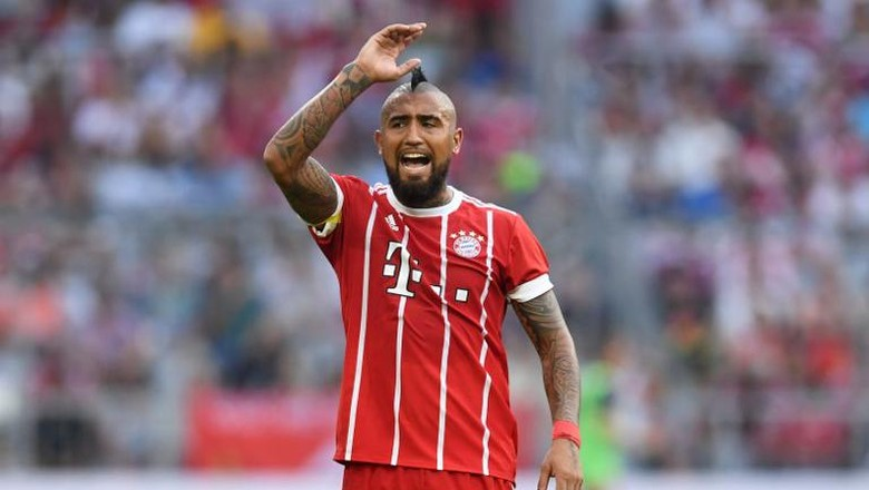 Vidal Terancam Absen Lawan Madrid