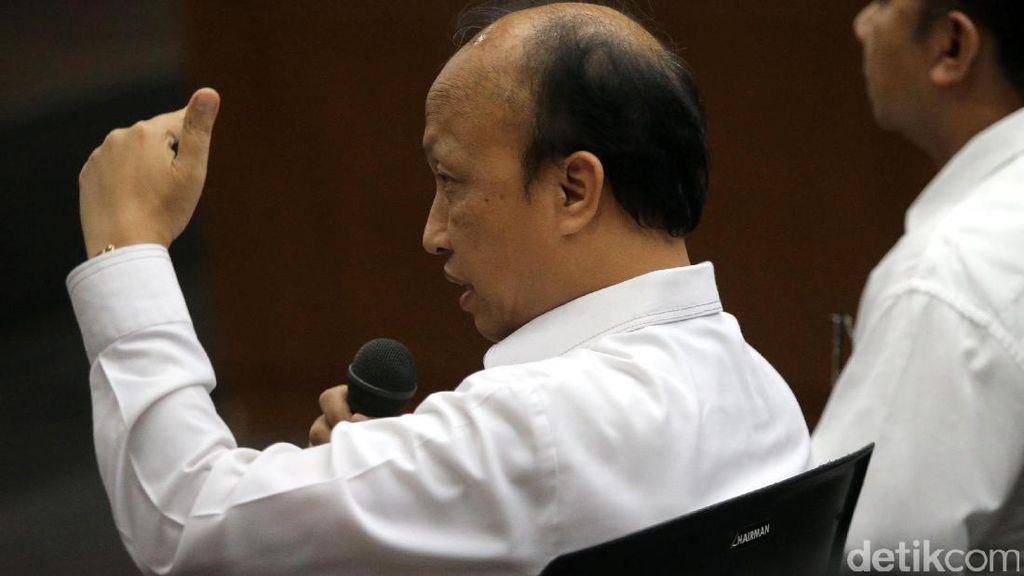 Sekjen Kemendes Anwar Sanusi Bersaksi di Sidang Suap WTP