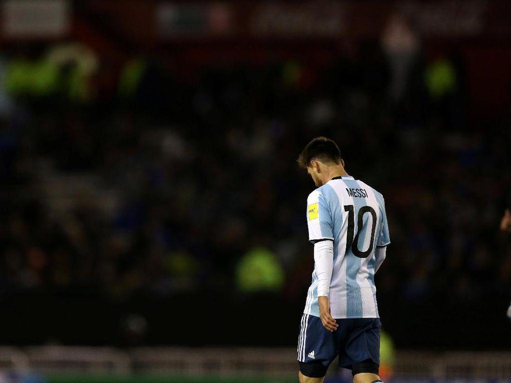 Messi Gagal Menangkan Argentina