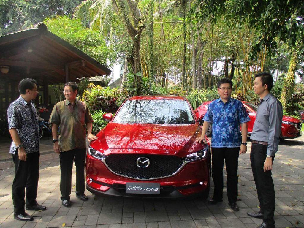 Mazda Bidik Pasar di Jawa Tengah dan DIY