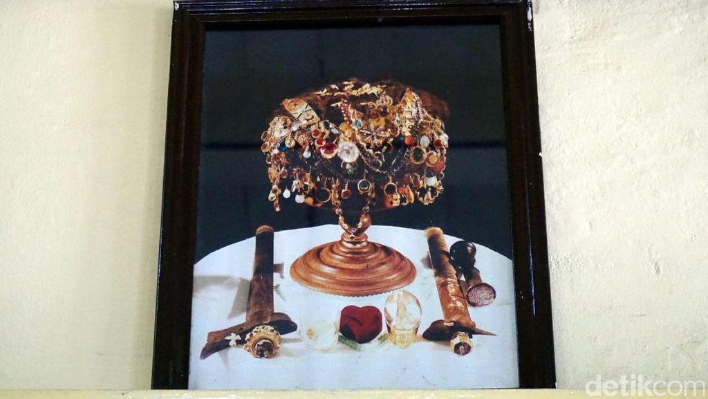 Foto: Mahkota Keramat Sultan Ternate dari Masa ke Masa