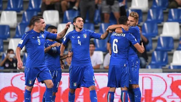 Meski Main Buruk, Italia Tetap Harus Lolos Piala Dunia