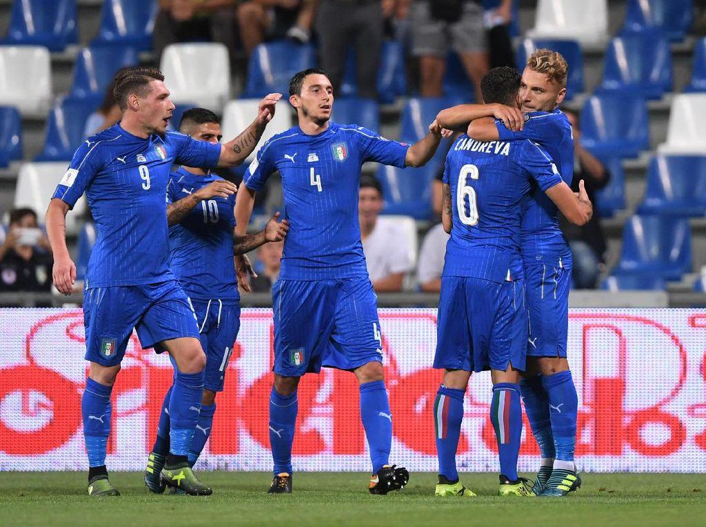Italia Bereaksi Cepat Usai Kekalahan Telak dari Spanyol