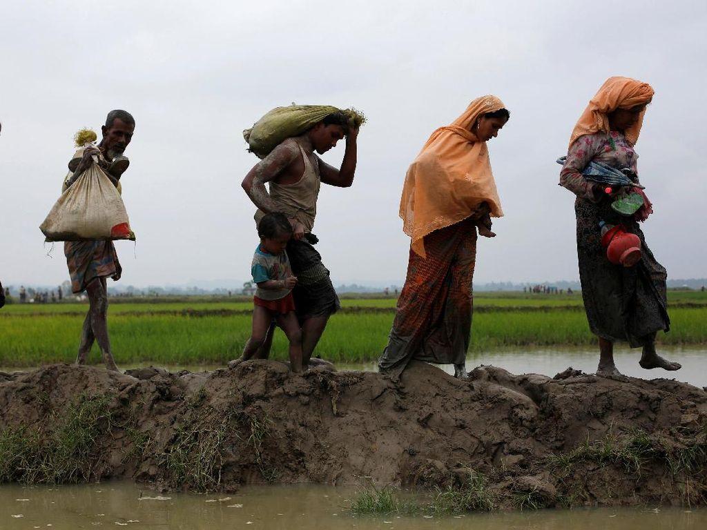 PBB: Bentrokan Baru Pecah di Rakhine, 2.500 Warga Rohingya Kabur