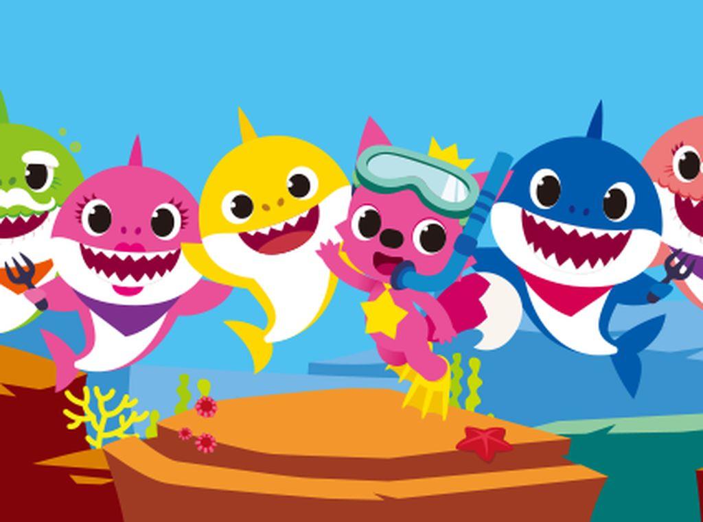 2 Tahun Rilis, Baby Shark Baru Debut di Tangga Lagu Billboard